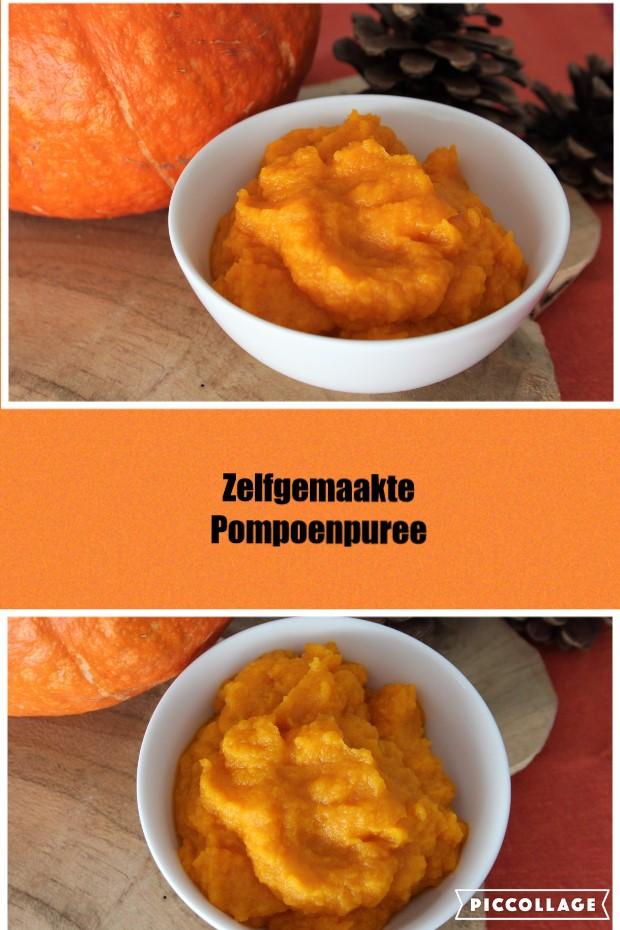 Zelfgemaakt pompoenpuree