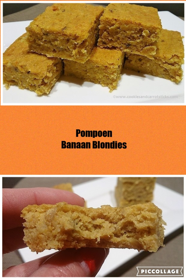 Pompoen Banaan Blondies