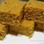 Pumpkin Banana Blondies