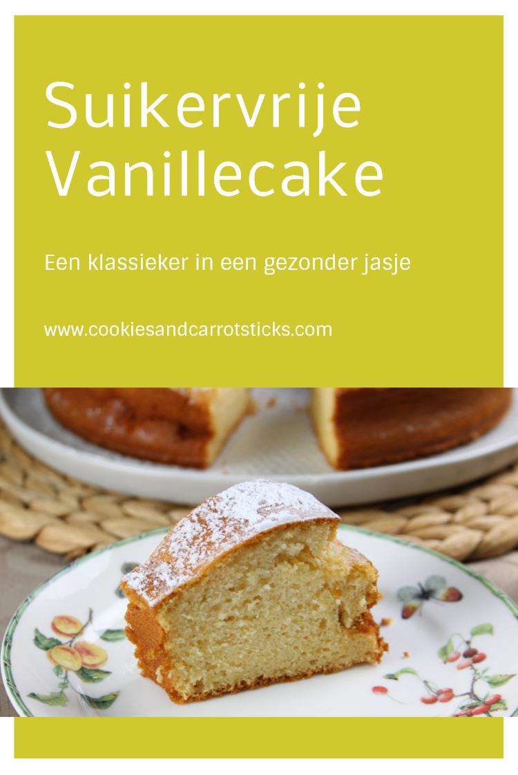 Suikervrije Vanillecake
