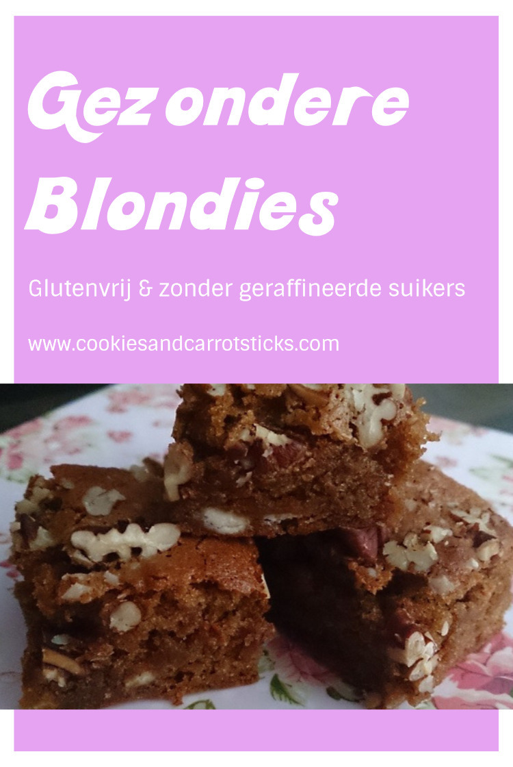 Gezondere Blondies