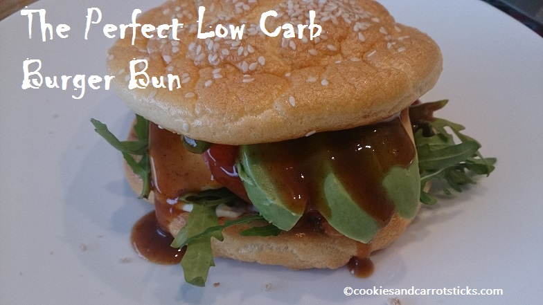 The Perferct Low Carb Burger Bun a.k.a. Cloud Bread
