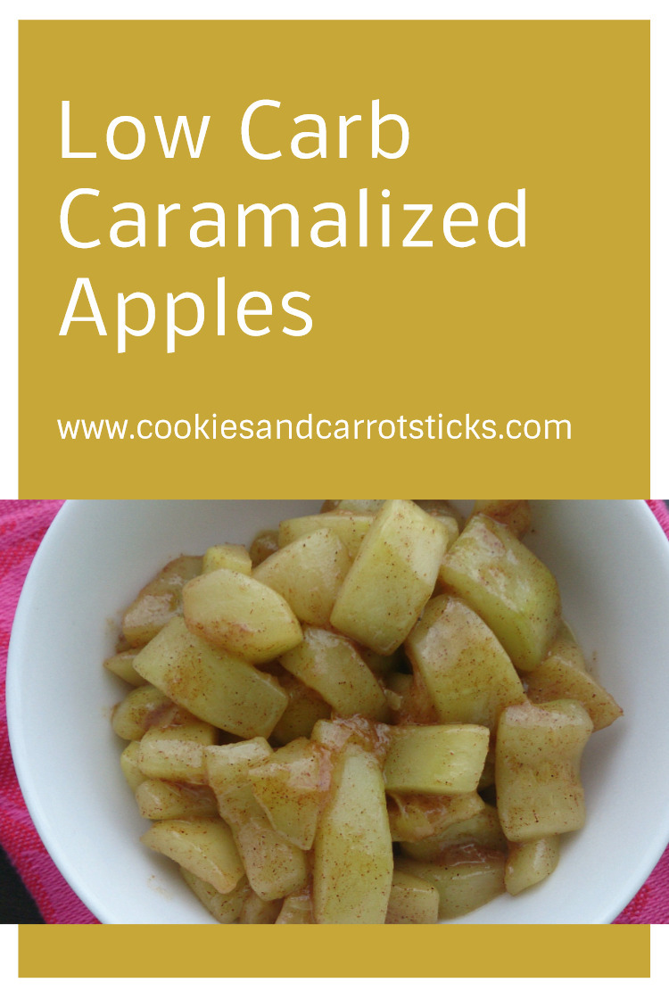 Low Carb Caramelized Apples