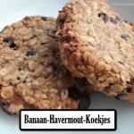 Banaan-Havermout-Koekjes