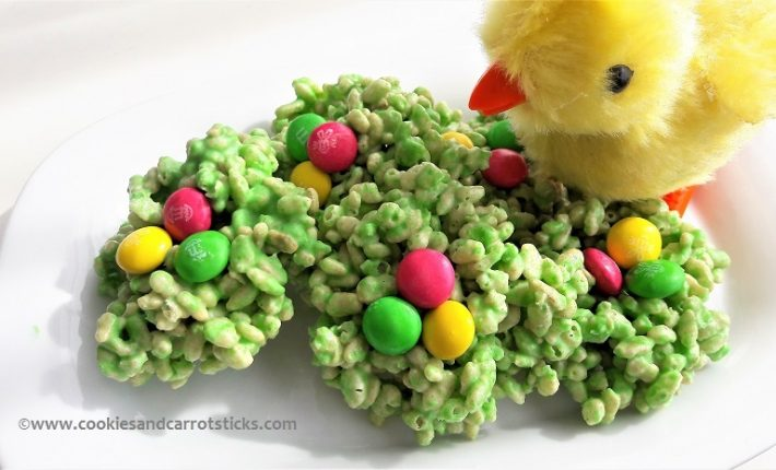 Rice Krispies Easter Nests