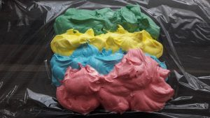 Colored Buttercream