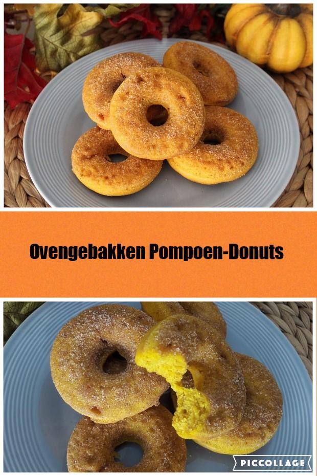 Pompoen Donuts