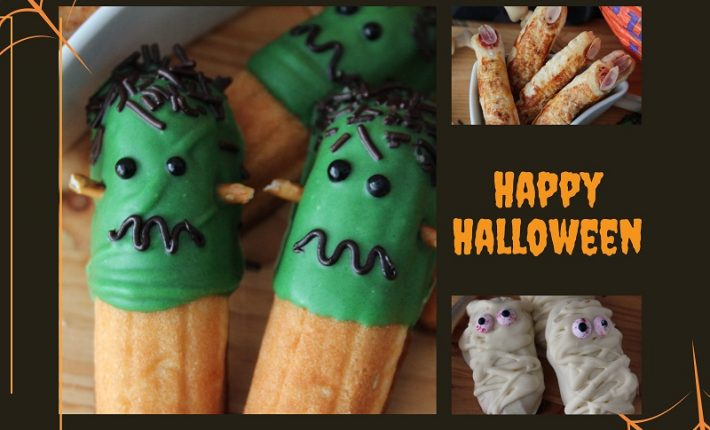 Leuke Halloween Traktaties.Halloween Traktaties Cookies Carrot Sticks