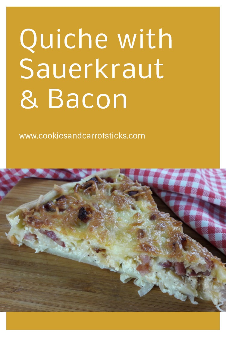 Quiche with Sauerkraut & Bacon