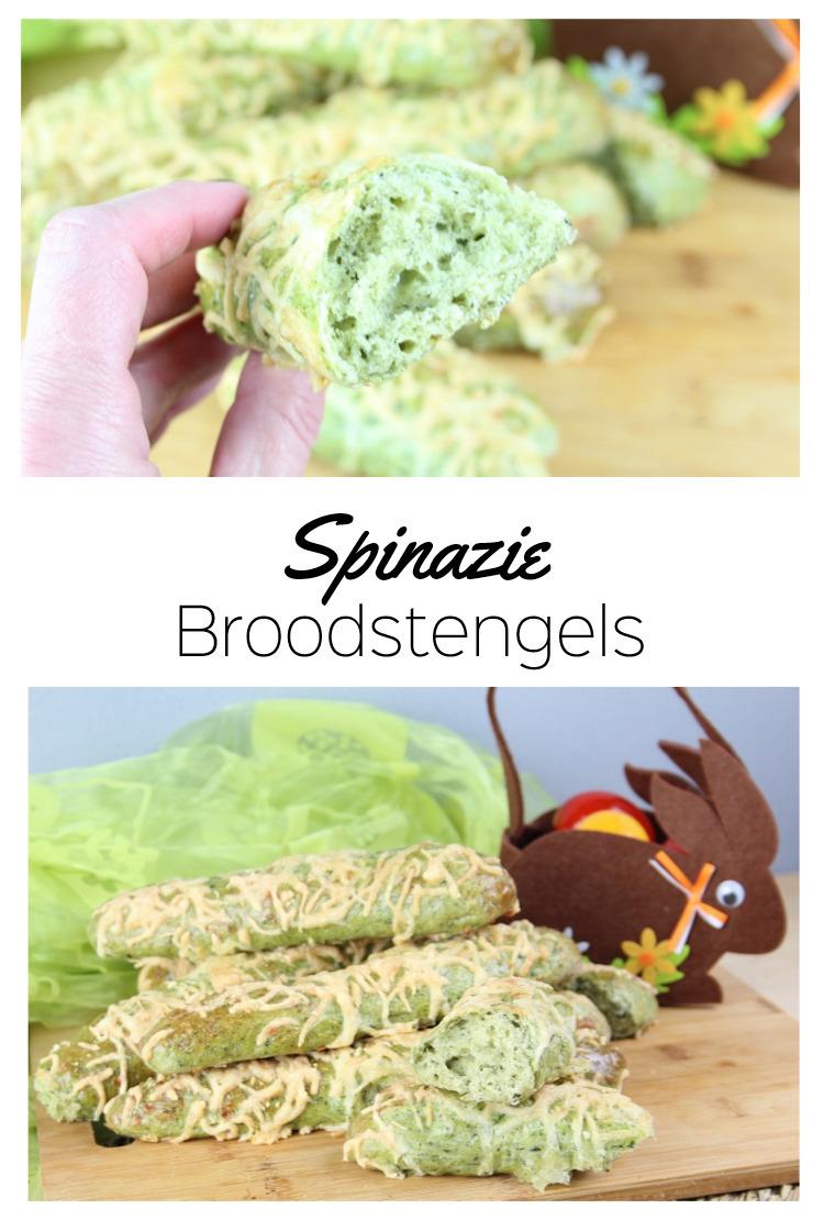 Spinazie-Broodstengels