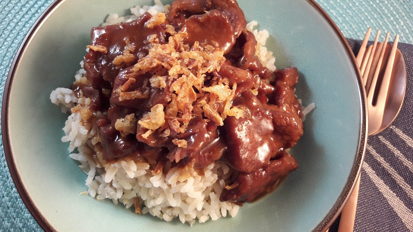 Mongoian Beef in the Slow Cooker
