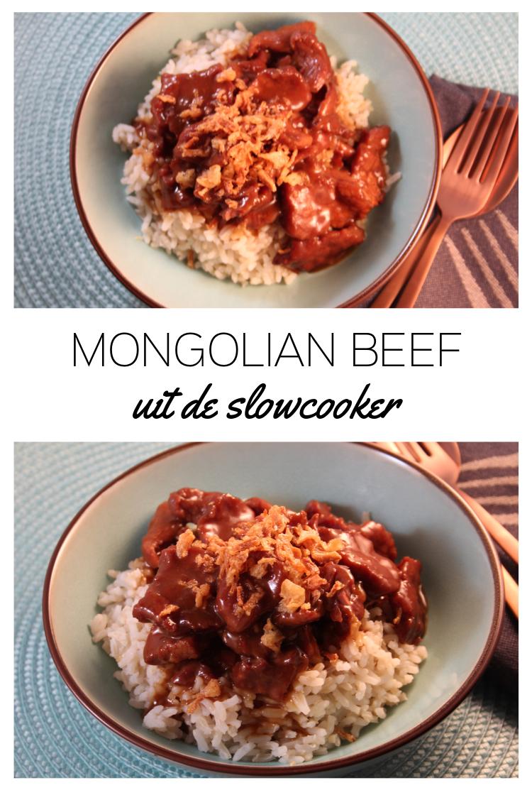 Mongolian Beef uit de Slowcooker