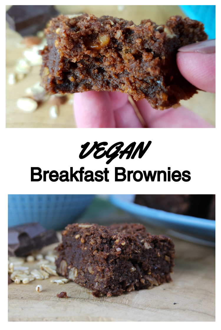 Vegan Breakfast Brownies