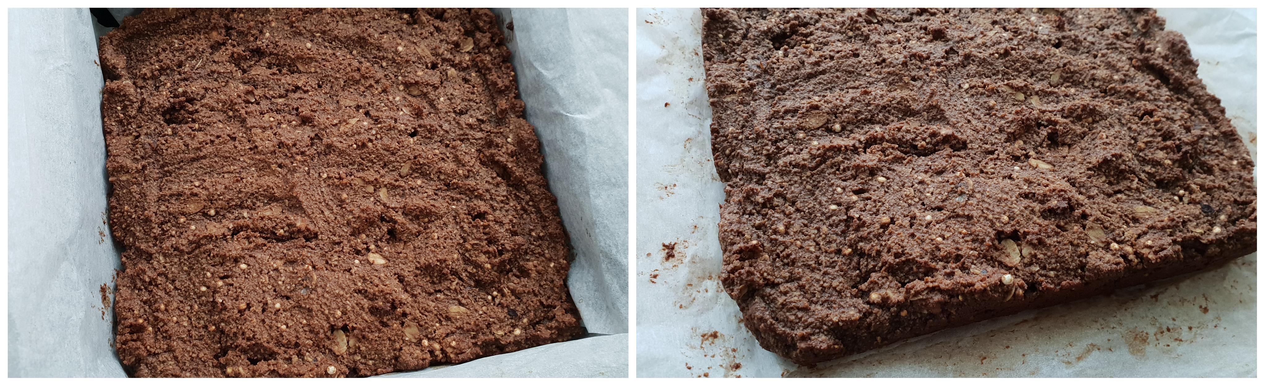 Bakken van de brownies