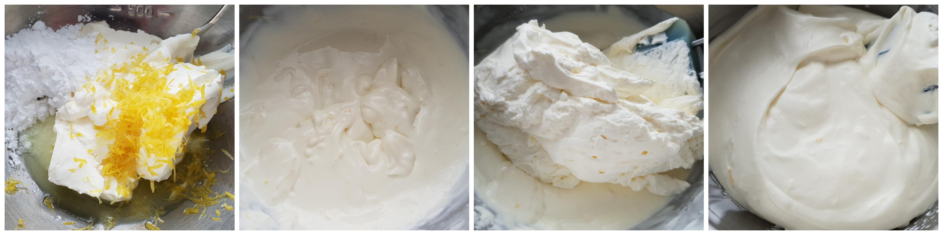Bereiden van de limoncello-mousse
