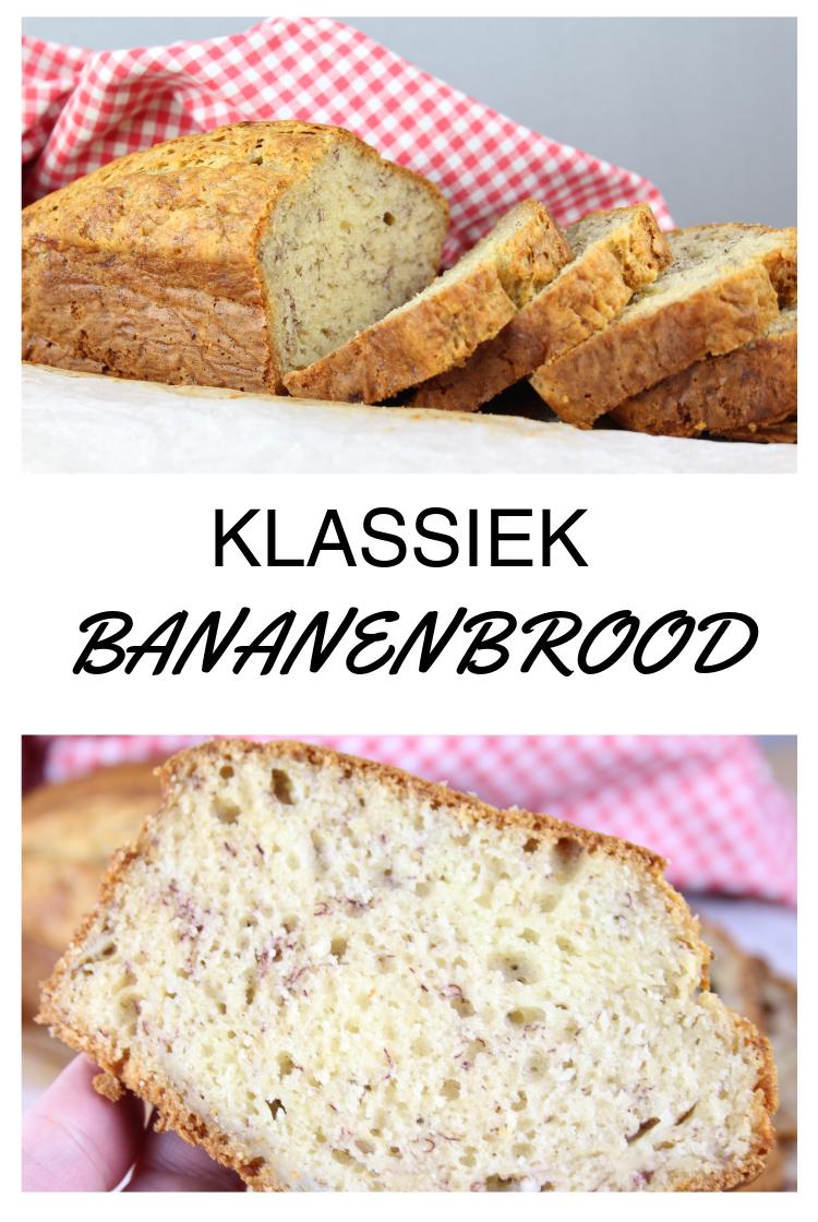 Klassiek Bananenbrood