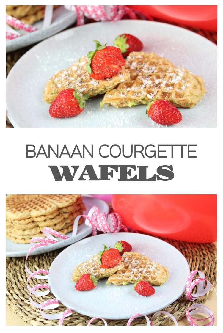 Banaan-Courgette-Wafels