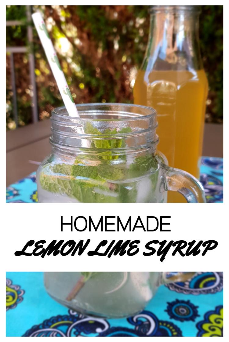Lemon Lime Syrup
