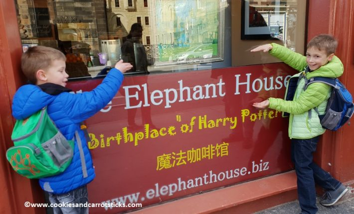 Edinburgh, voor The Elephant House
