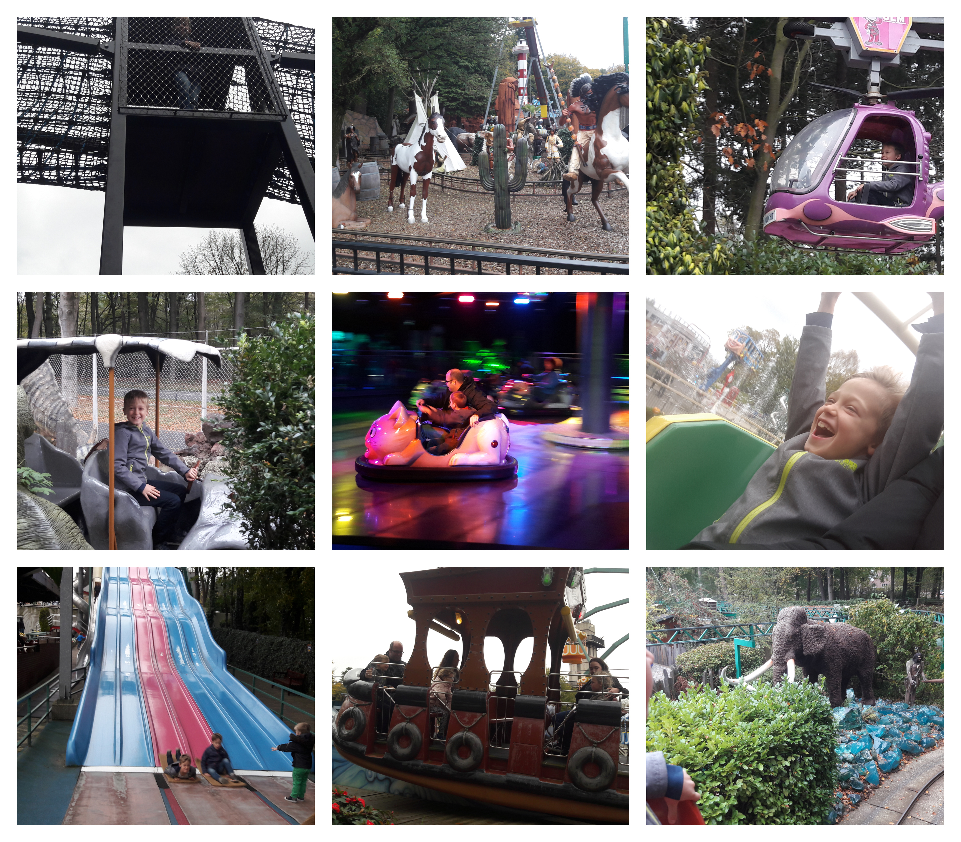 Veel attracties voor jonge kinderen in de Julianatoren