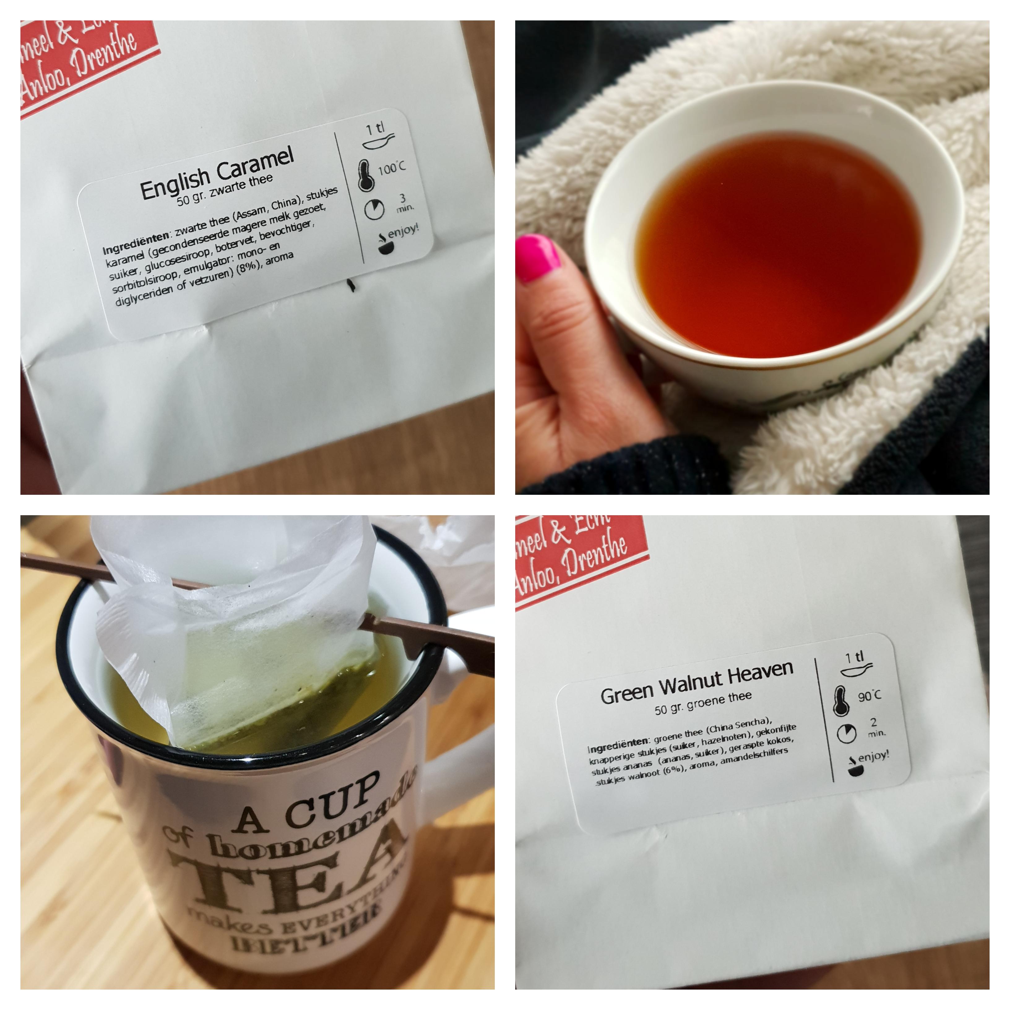 Diverse soorten thee