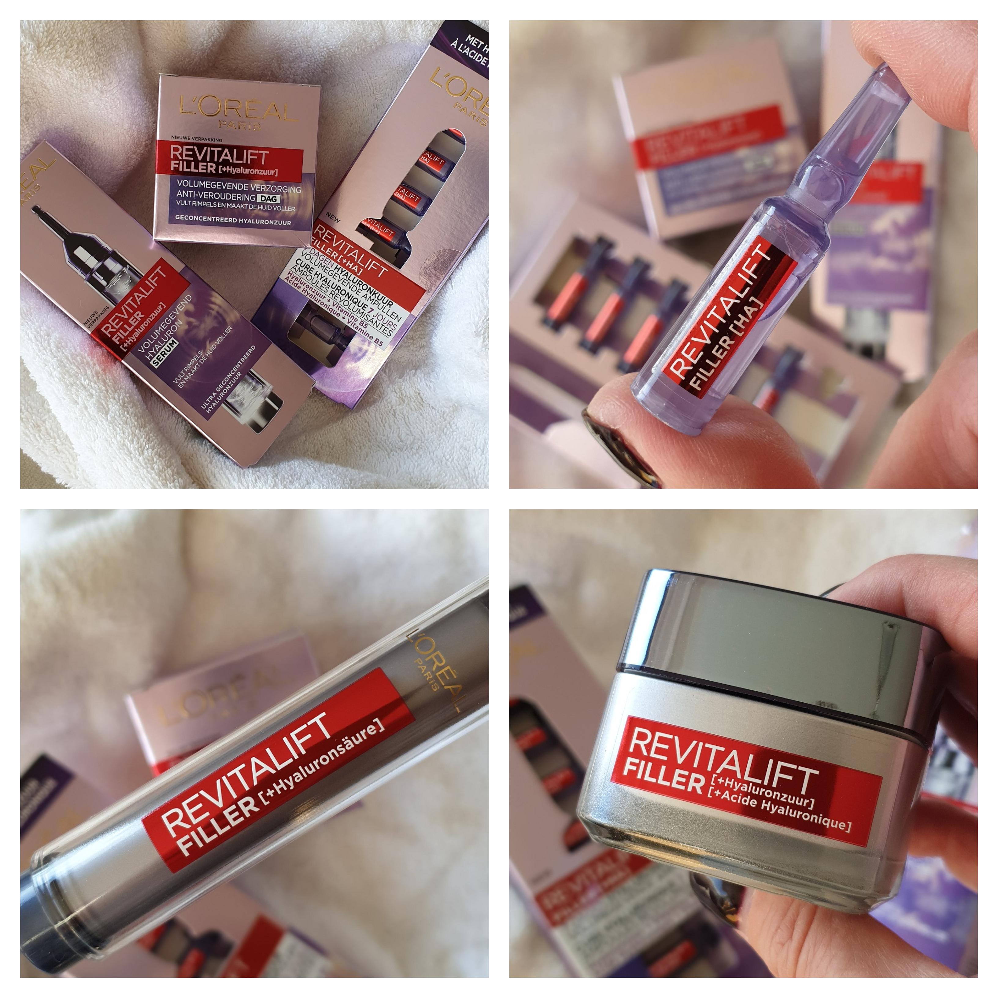 Goed gevuld pakket met Revitalift Filler van L'Oréal Paris