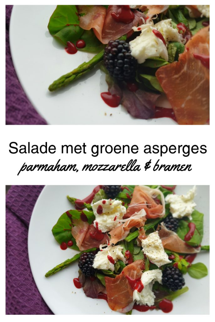 Salade met groene asperges PIN NL