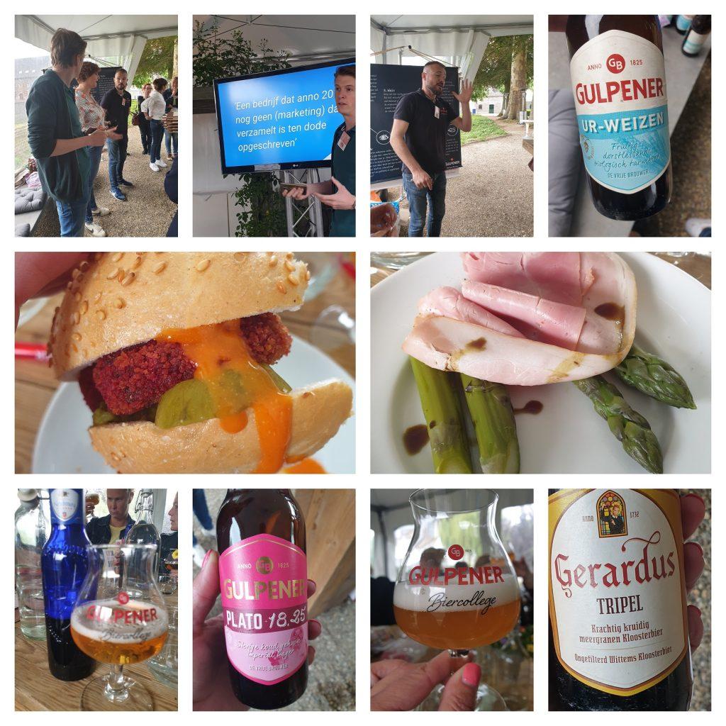 Online marketing workshop en bierproeverij