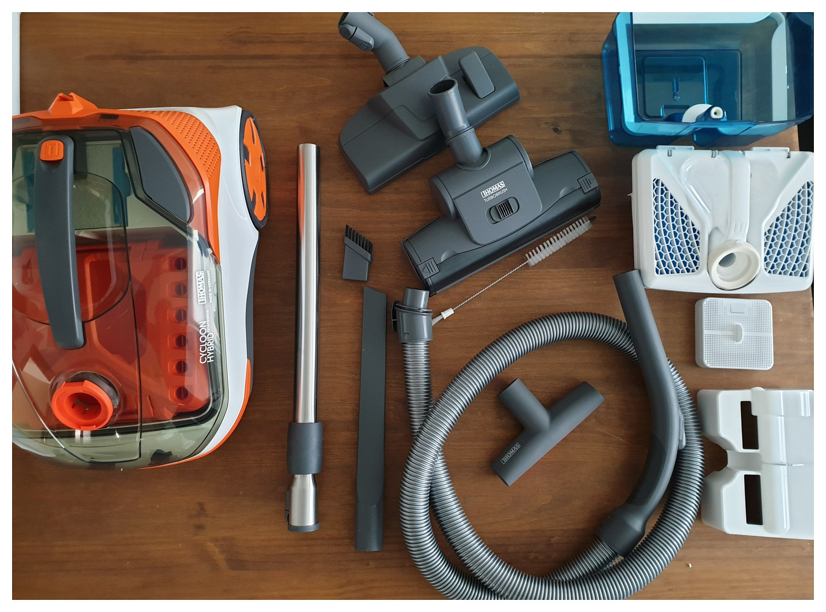 Compleet accessoirepakket van de Cycloon Hybrid Pt & Friends van Thoma