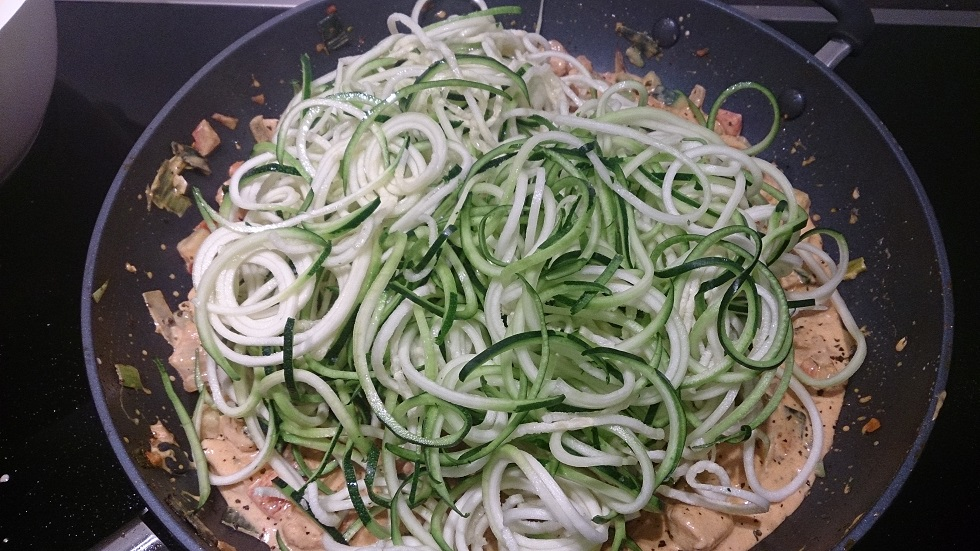 Creamy Chicken Zoodles 2