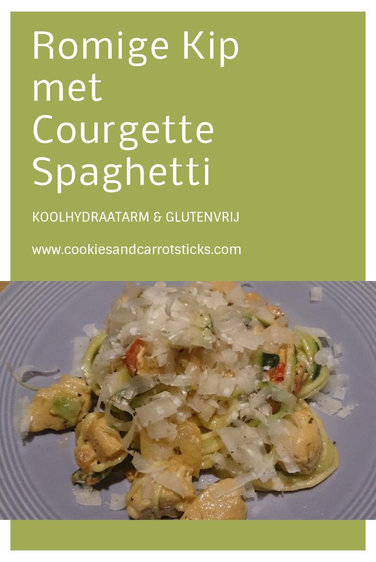 Romige Kip met Courgettespaghetti