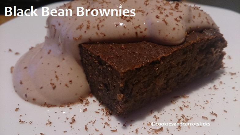 Black Bean Brownies – GF, grain free, refined suger free