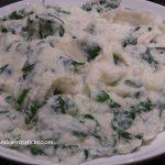 Spinach & Cauliflower Mash