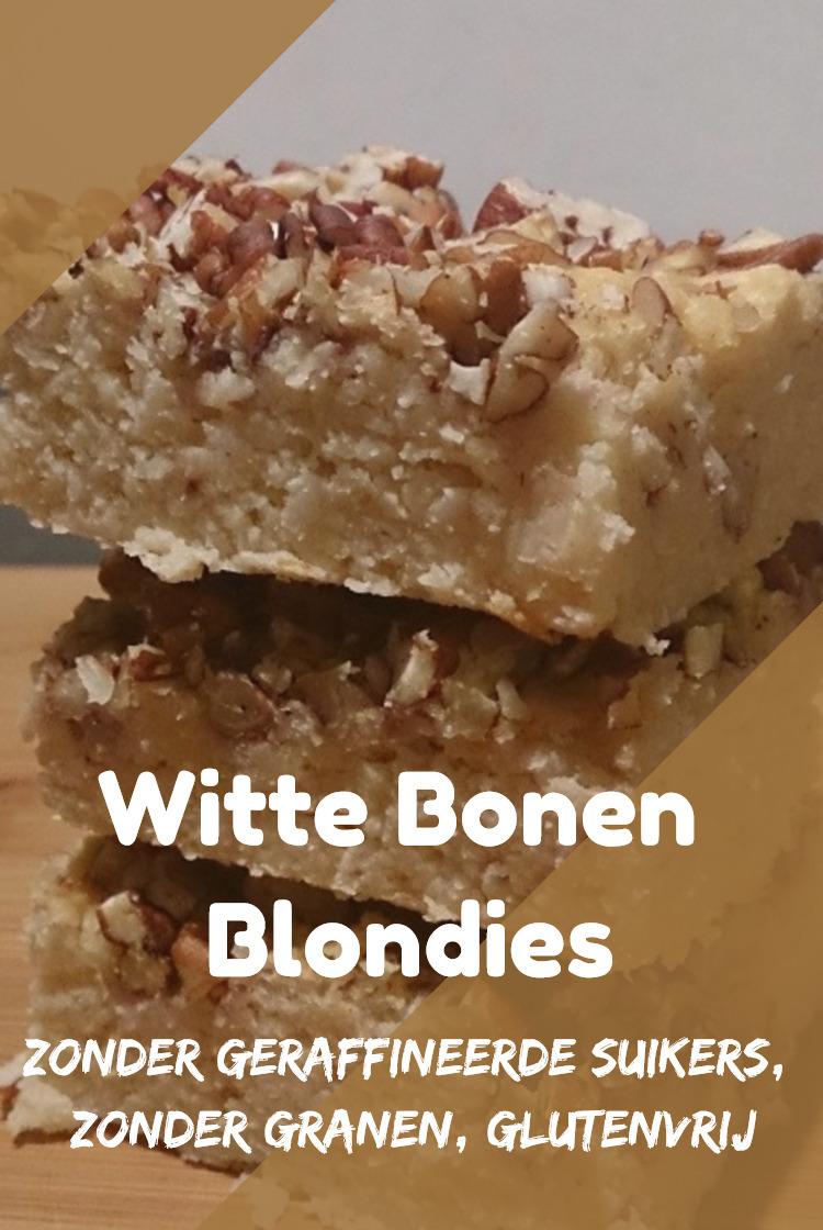 Witte Bonen Blondies