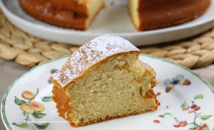 Sugarfree vanilla Cake