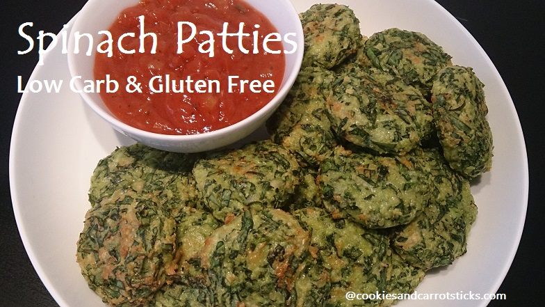 Spinach Patties - Low Carb & Gluten Free