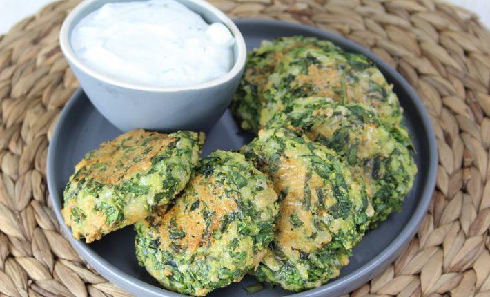 Spinazieschijfjes / Spinach Patties