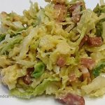 Cabbage à la Carbonara