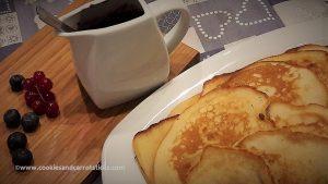 Buttermilk Spelt Pancakes