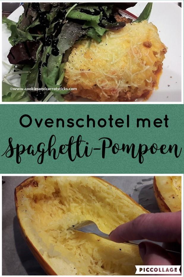 Ovenschotel met Spaghetti-Pompoen