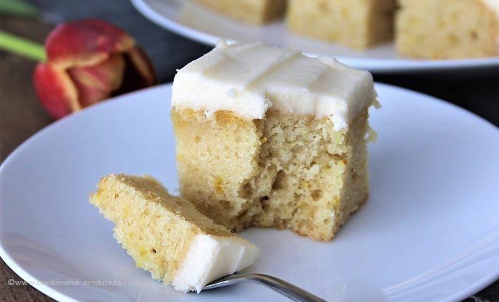 Lemon Crazy Cake