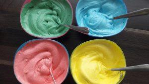 Colored Buttercream