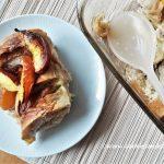 Neactarine Cinnamon Bread Pudding