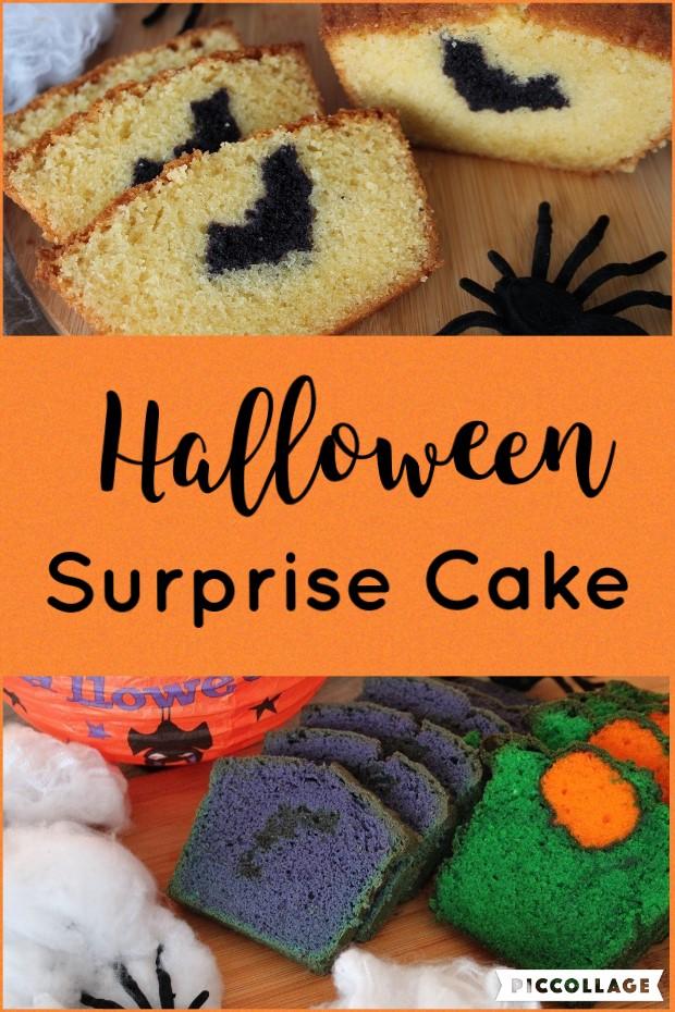 Halloween Surprise Cake
