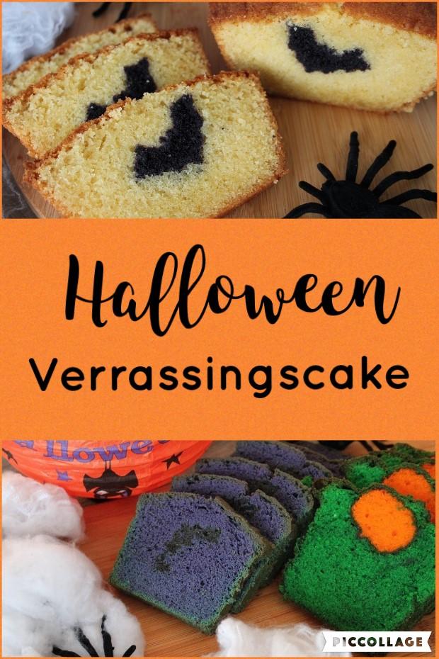 Halloween Verrassingscake