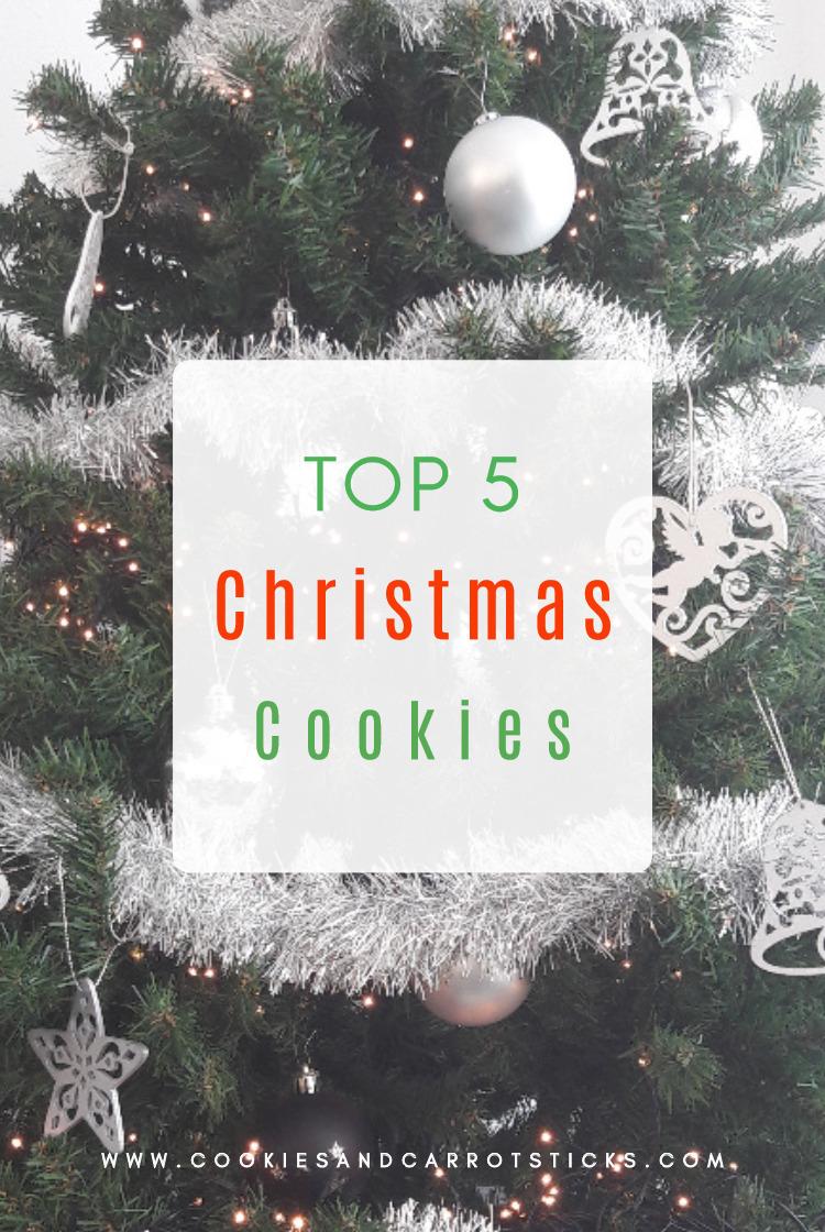Top 5 Christmas Cookies