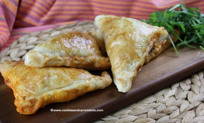 Spiced Lamb Turnovers