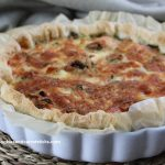 Quiche met Gerookte Zalm & Broccoli