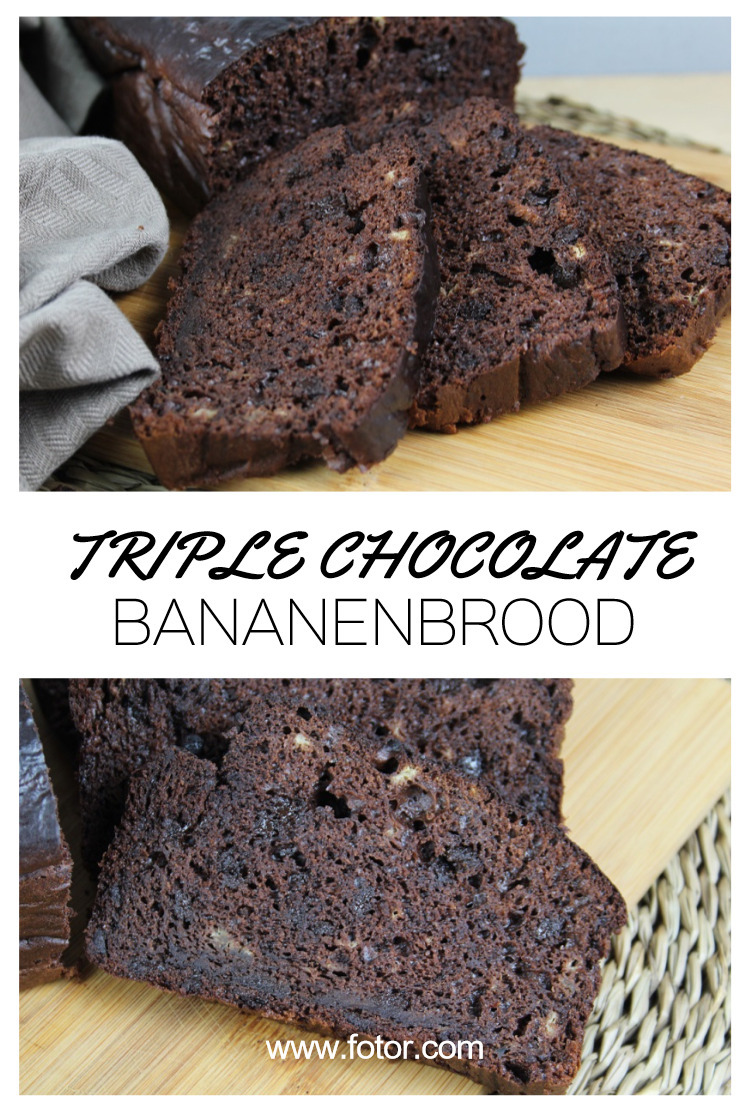 Triple Chocolate Bananenbrood