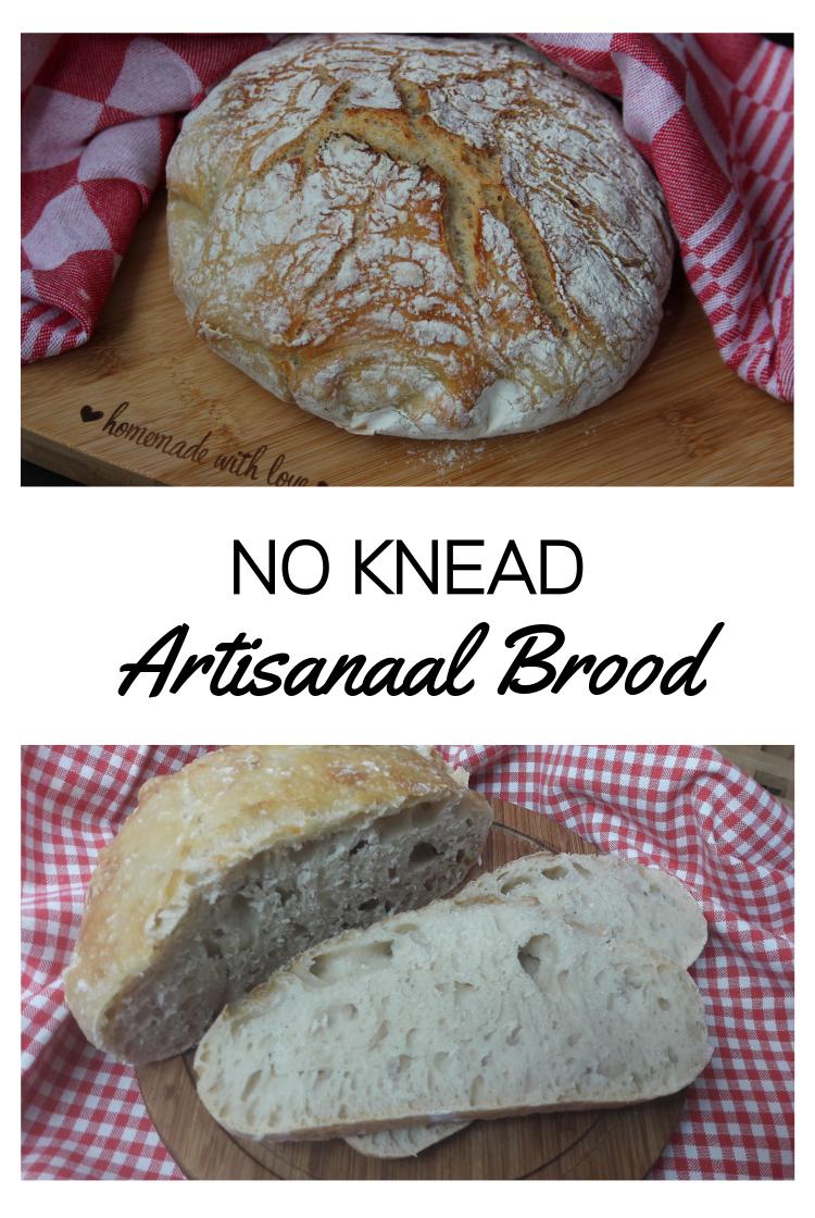 Artisanaal Brood - de 'no knead' methode